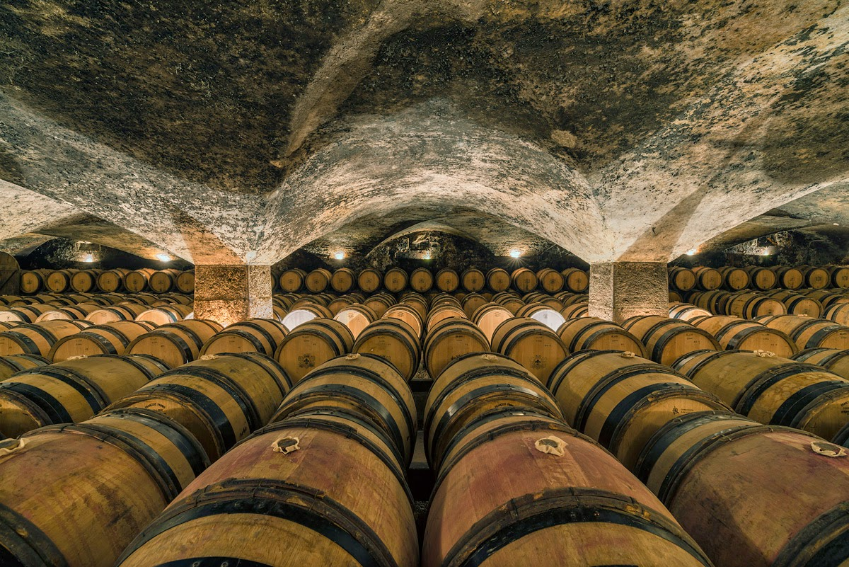Photo des caves du château de Meursault