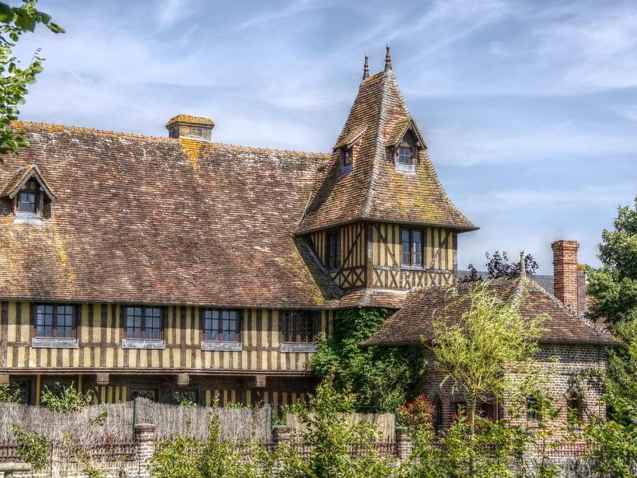 Beuvron-en-Auge dans le Calvados.