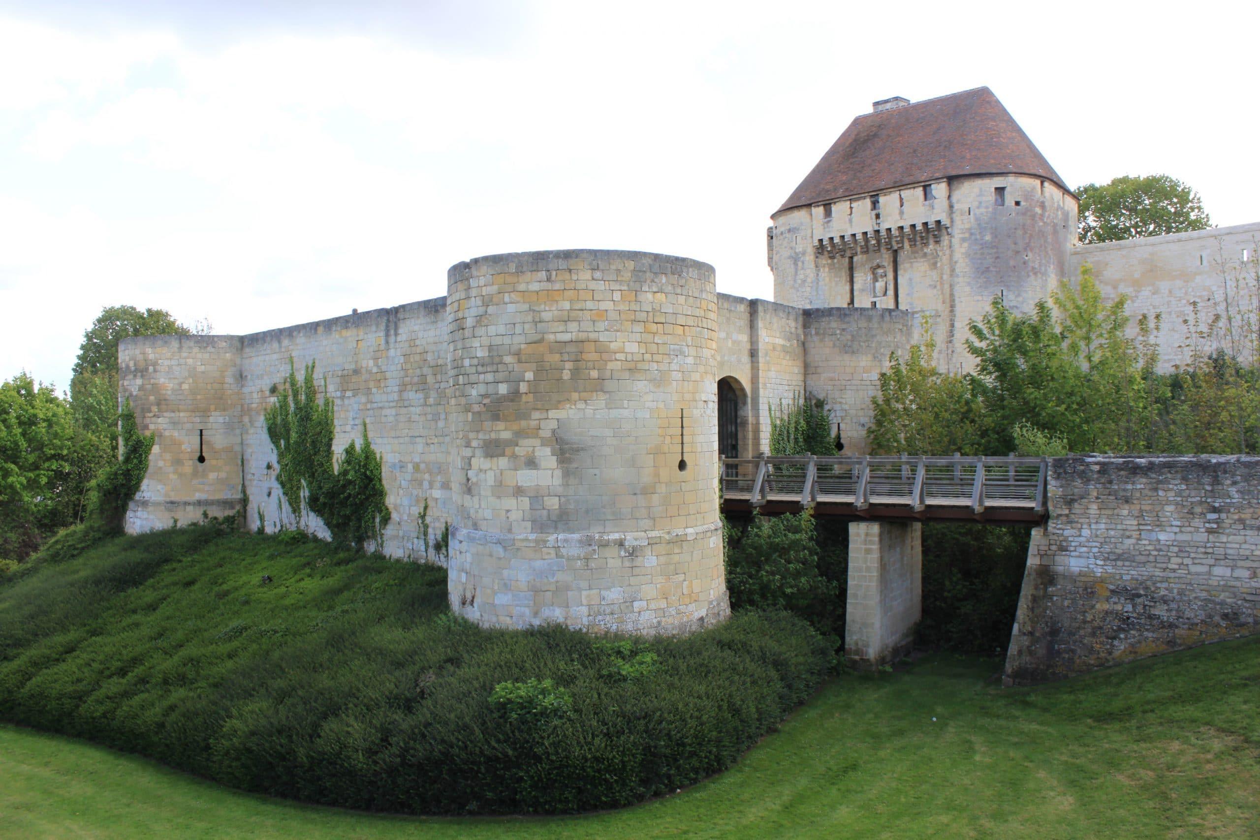 Château de Caen, aussi appelée château de Guillaume le Conquérant.