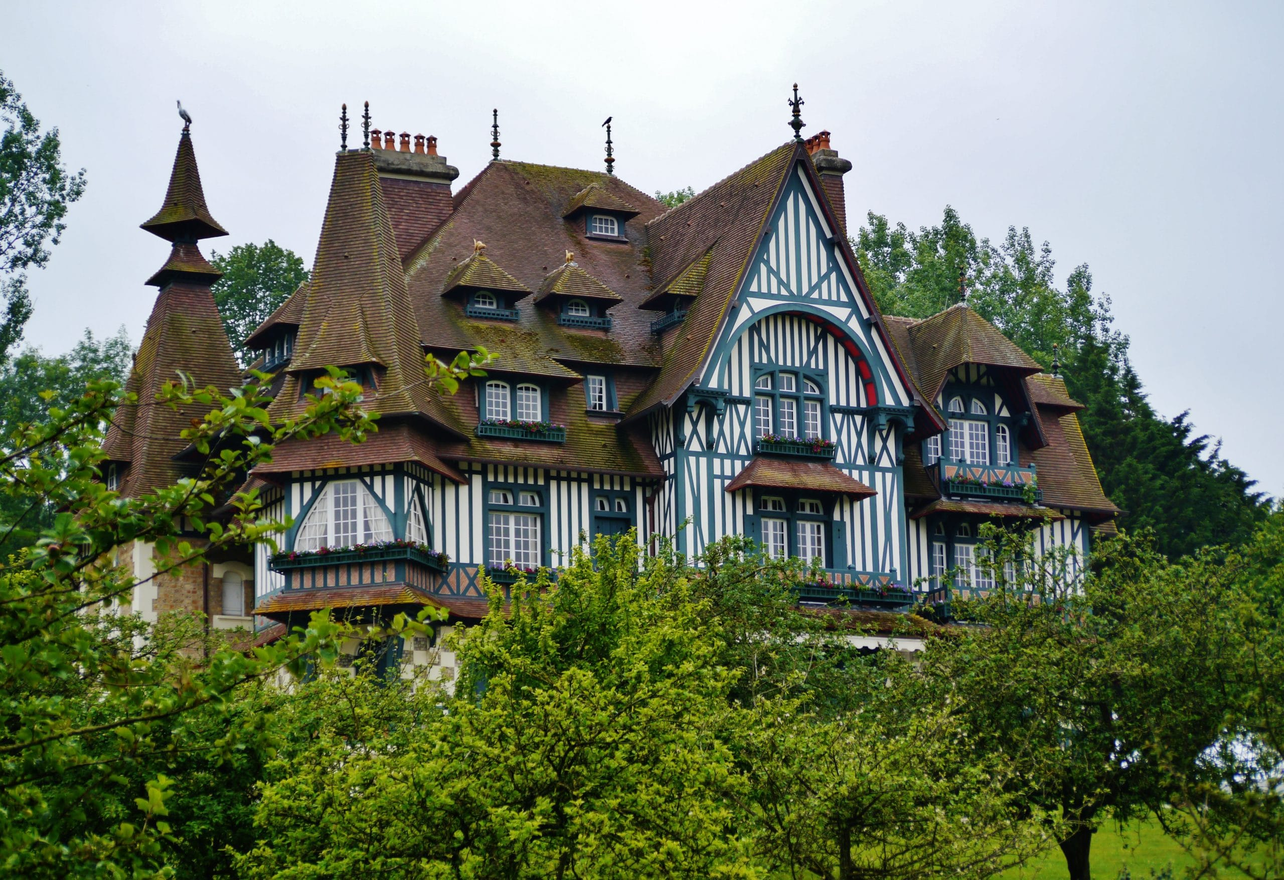 Villa Strasburger à Deauville