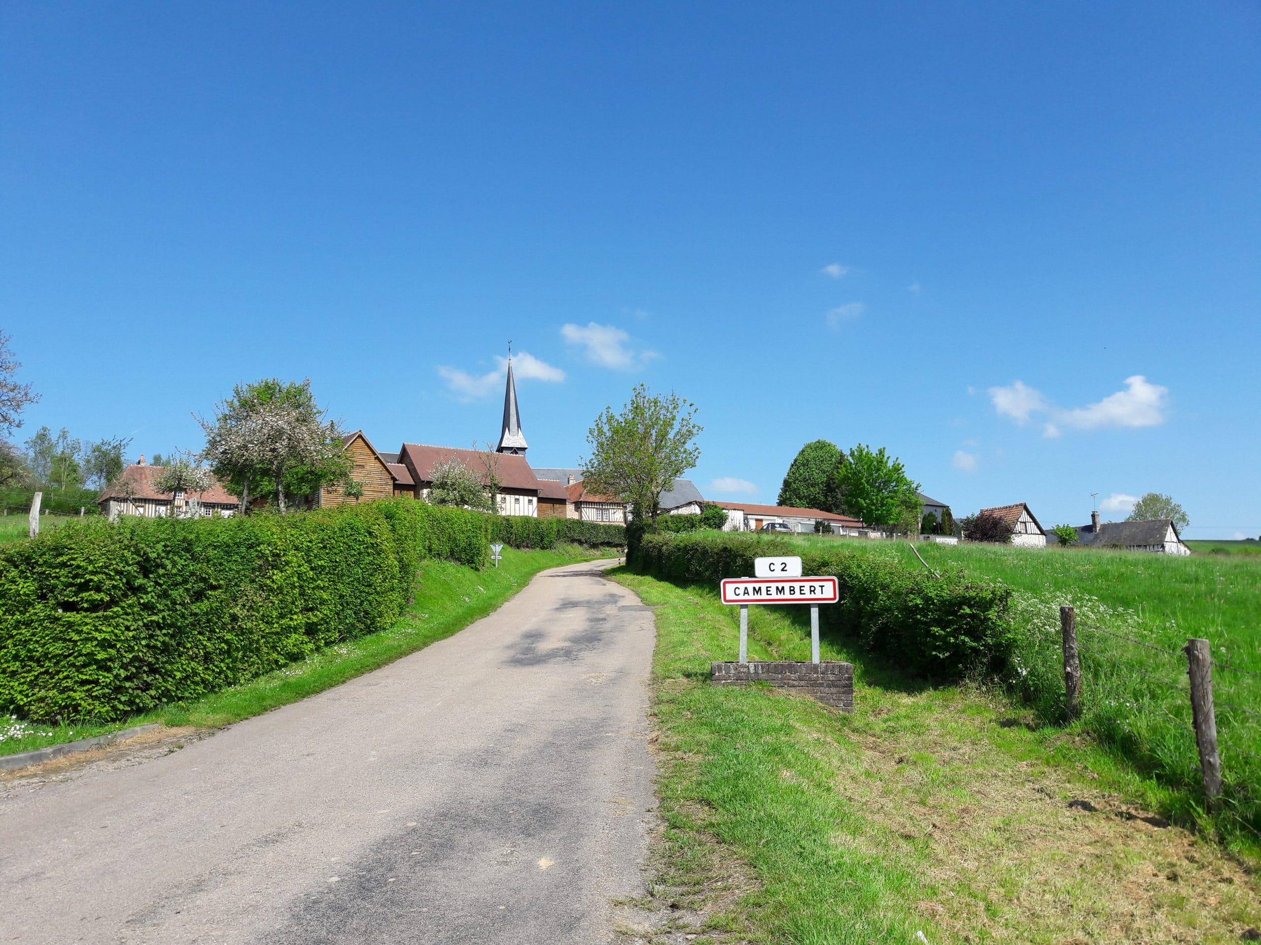 Village de Camembert en Normandie