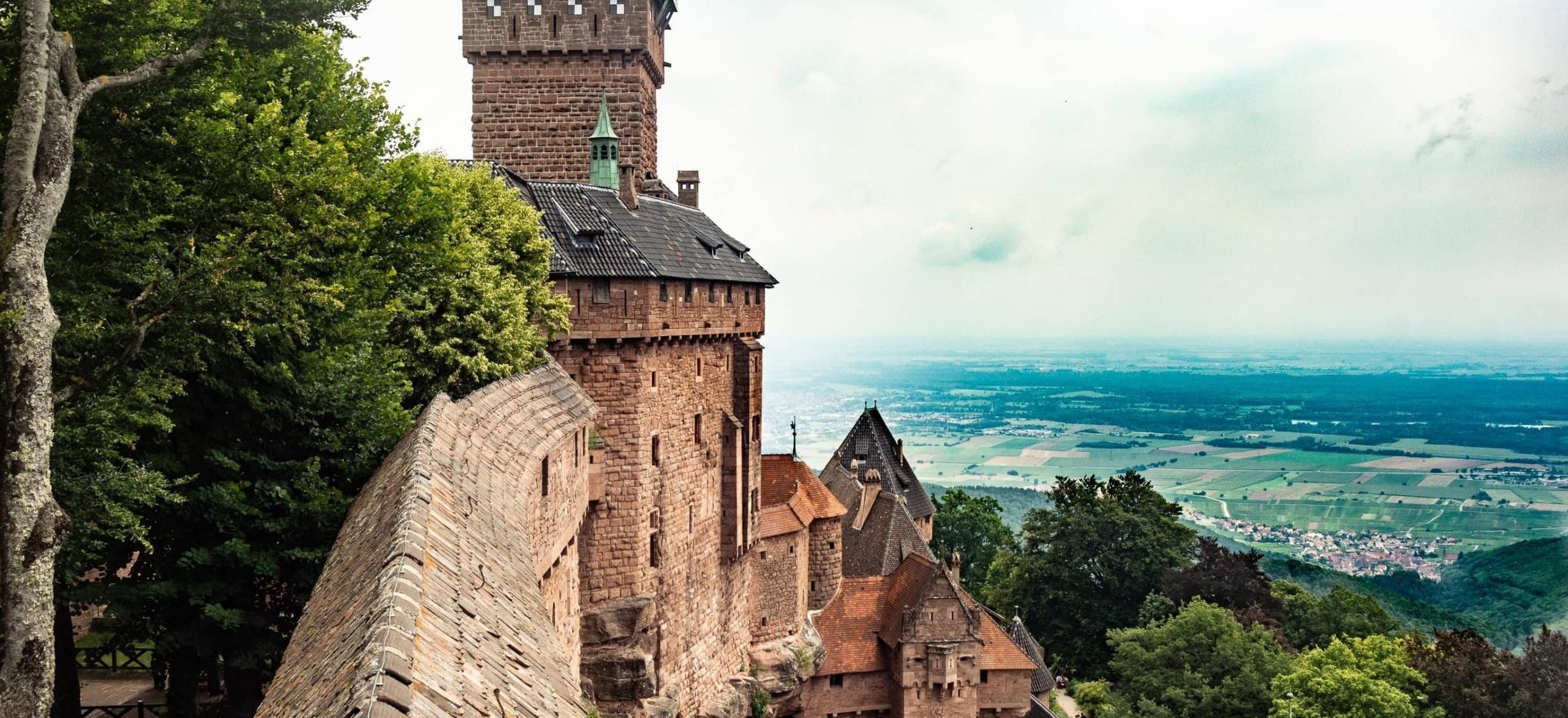 Château de Koenigsbourg en Alsace
