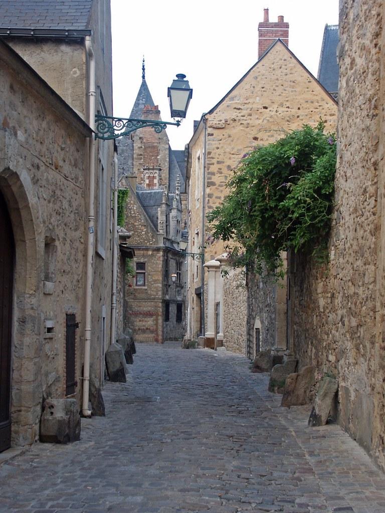 Cité Plantagenêt dans la ville du Mans