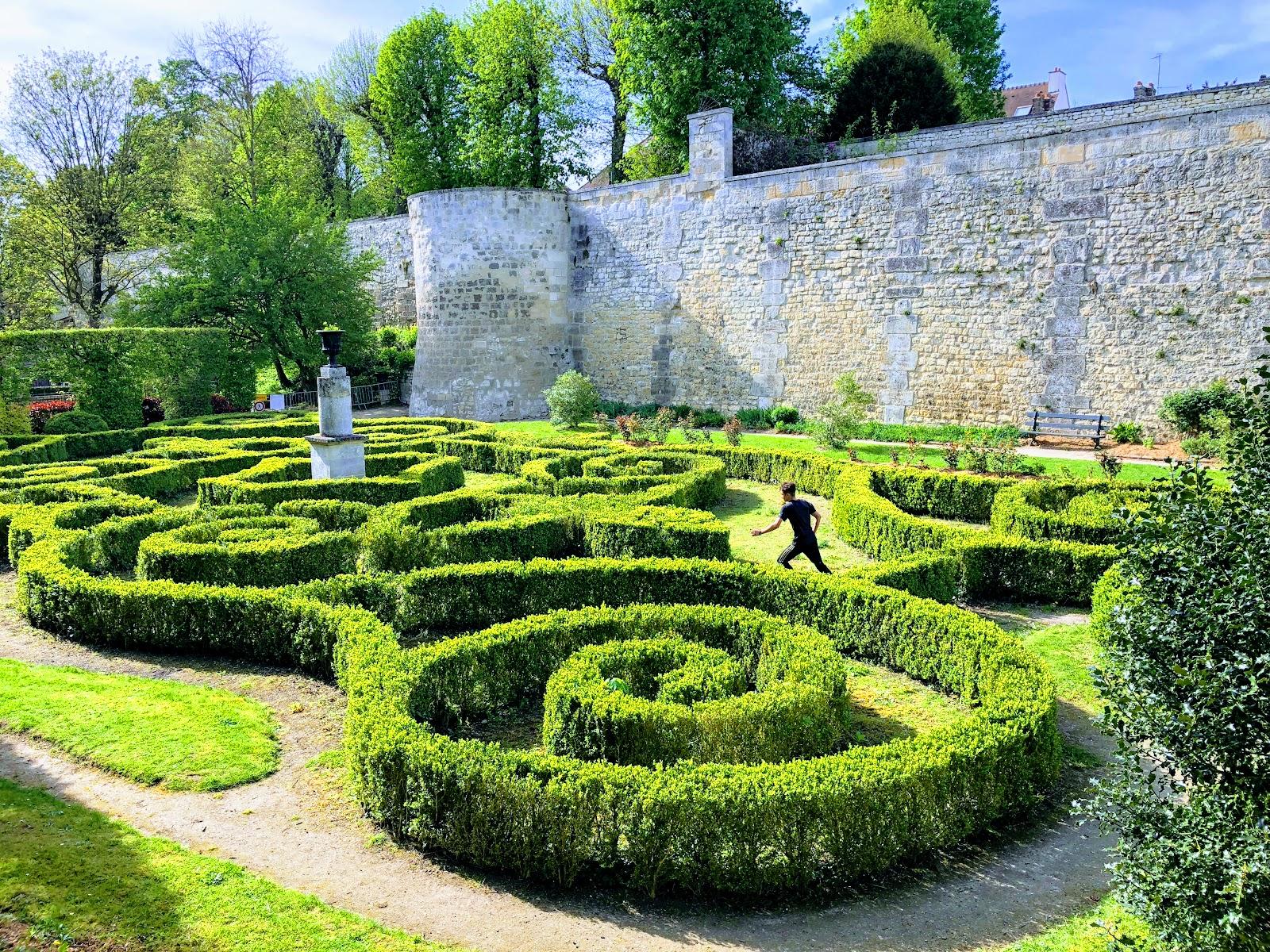 Photo du Jardin des Remparts de Compiègne