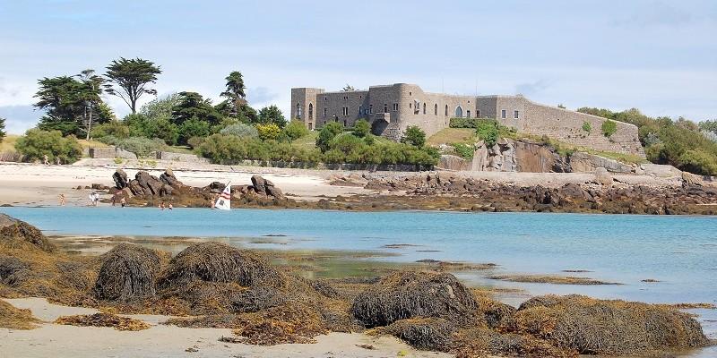 Les îles Chausey en Normandie
