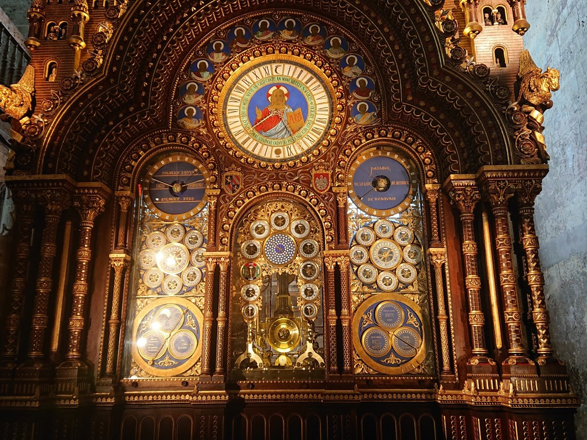 Horloge astronomique de la Cathédrale Saint-Pierre de Beauvais
