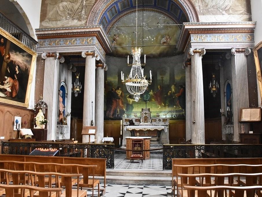 La chapelle des pénitents blancs d'Aigues-Mortes