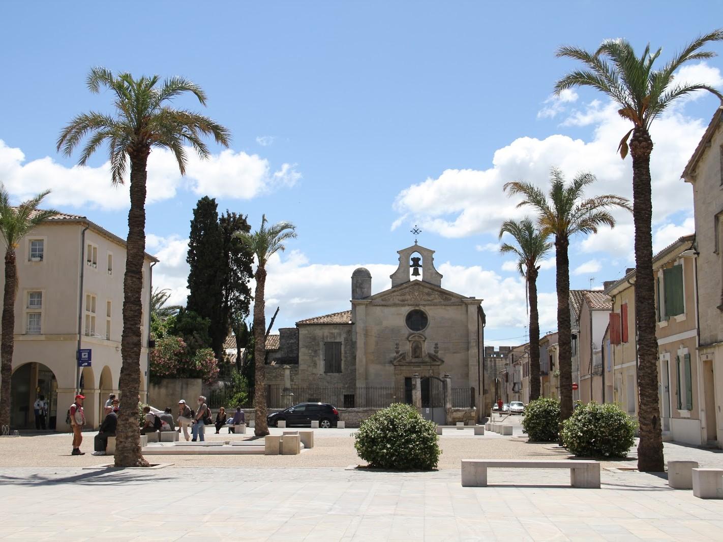 La chapelle des Pénitents Gris à Aigues-Mortes