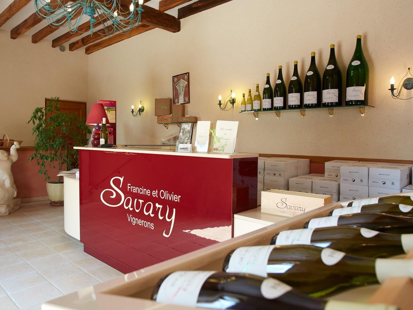 Domaine Savary accueil