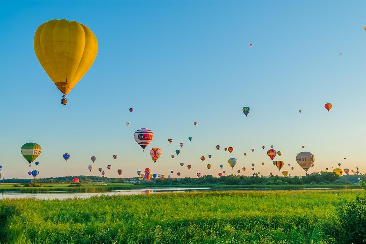Lorraine, festival mondial de montgolfière