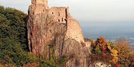 Route des châteaux forts
