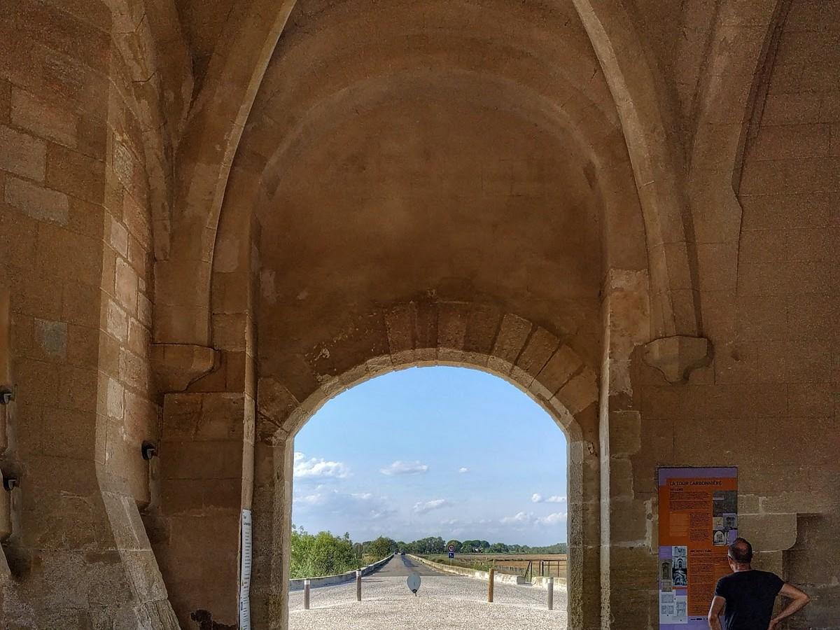 La tour Carbonnière à Aigues-Mortes