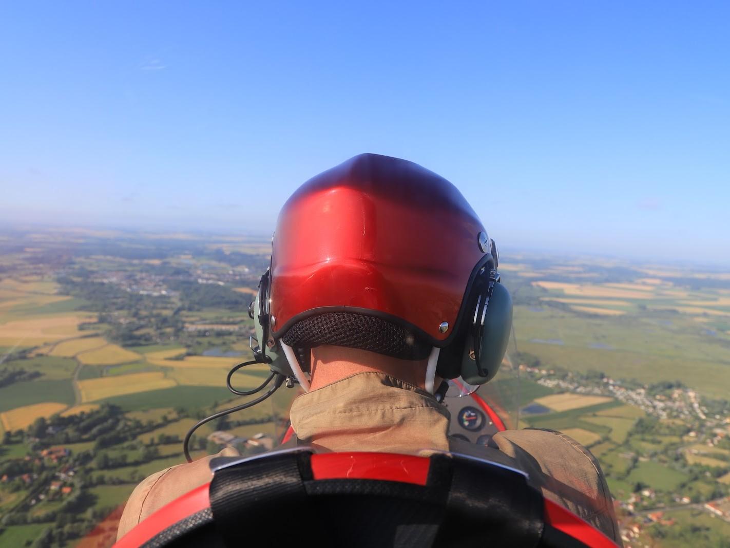 Vol ULM au-dessus de la baie de Somme