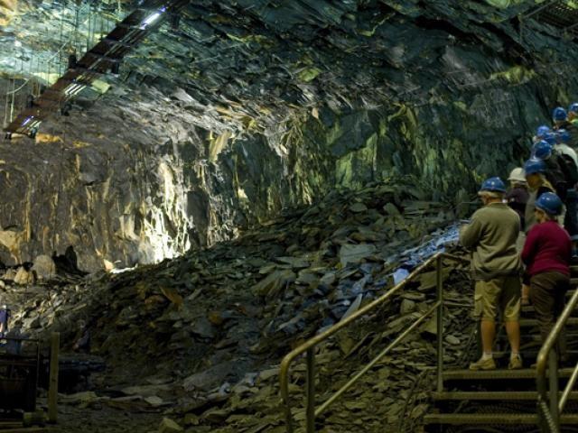 La Mine Bleue d'Anjou