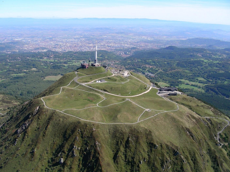 Puy de Dôme en Auvergne