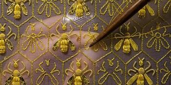 Broderie en or de Rochefort