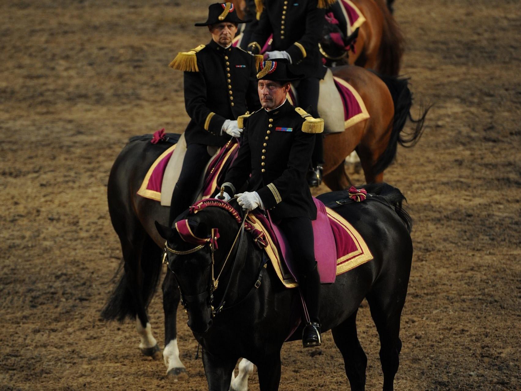 Cadre Noir de Saumur écuyers