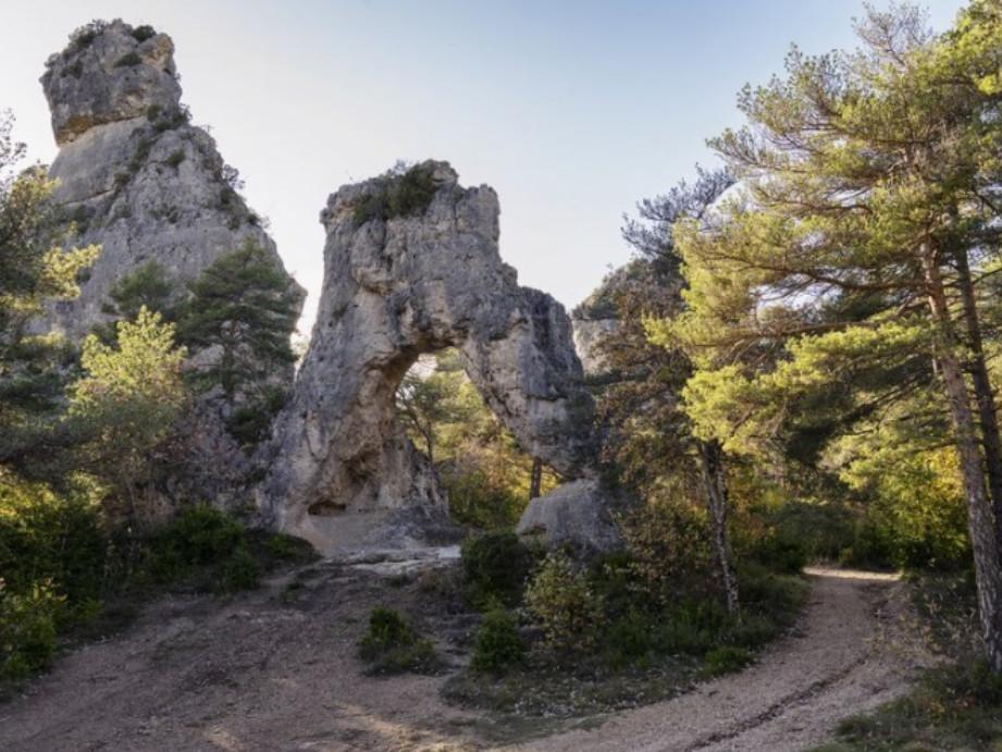Cite des pierres arche