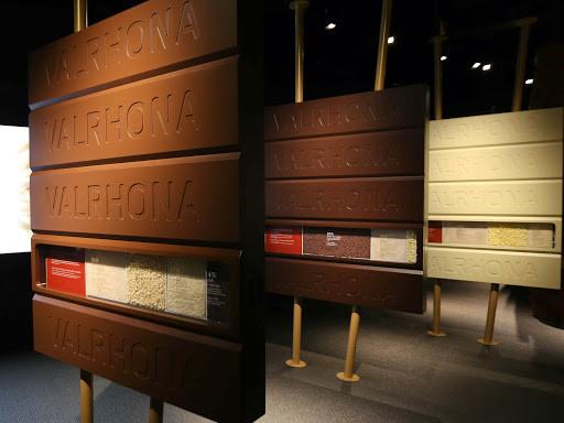 Cité du Chocolat panneaux