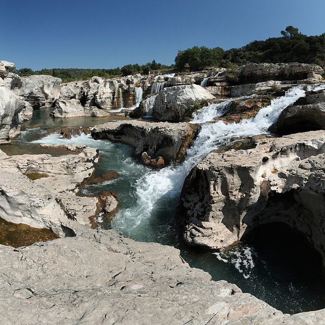 La Roque sur Ceze cascades du sautadet
