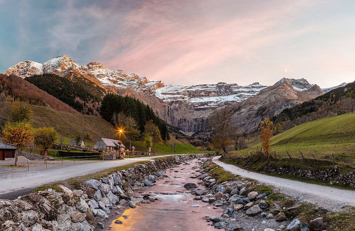 Parc national des Pyrenees chemin