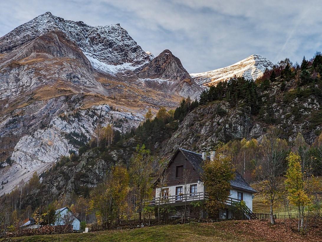 Parc national des Pyrenees maison