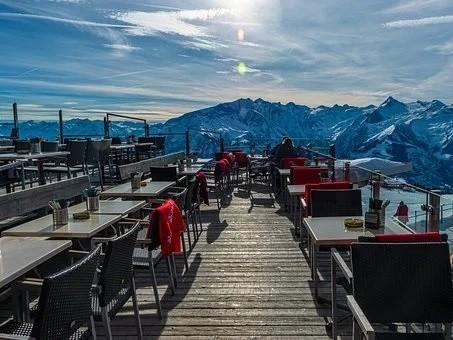 Restaurant panoramique Mer de Glace à Chamonix