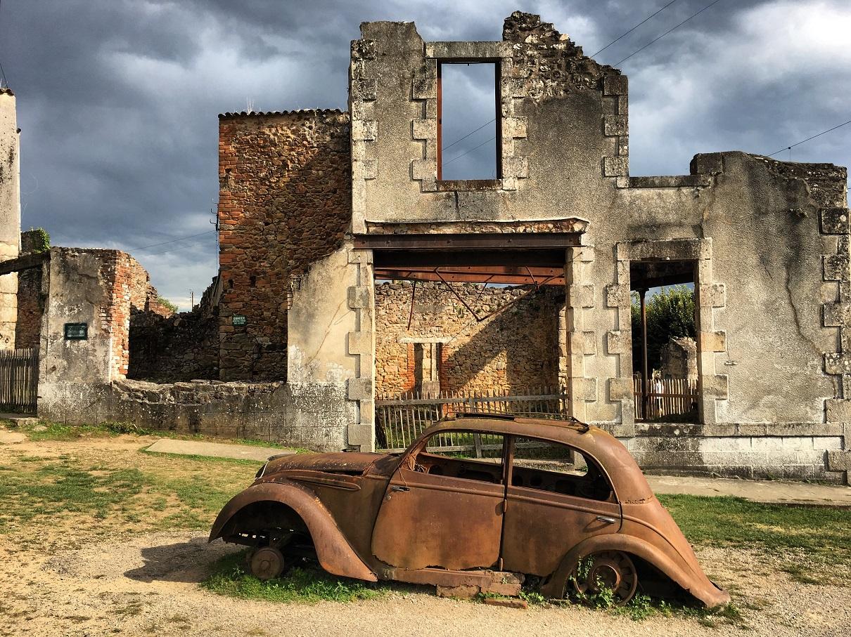 oradour-sur-glane, village martyr