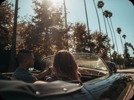 Départ en week-end en voiture