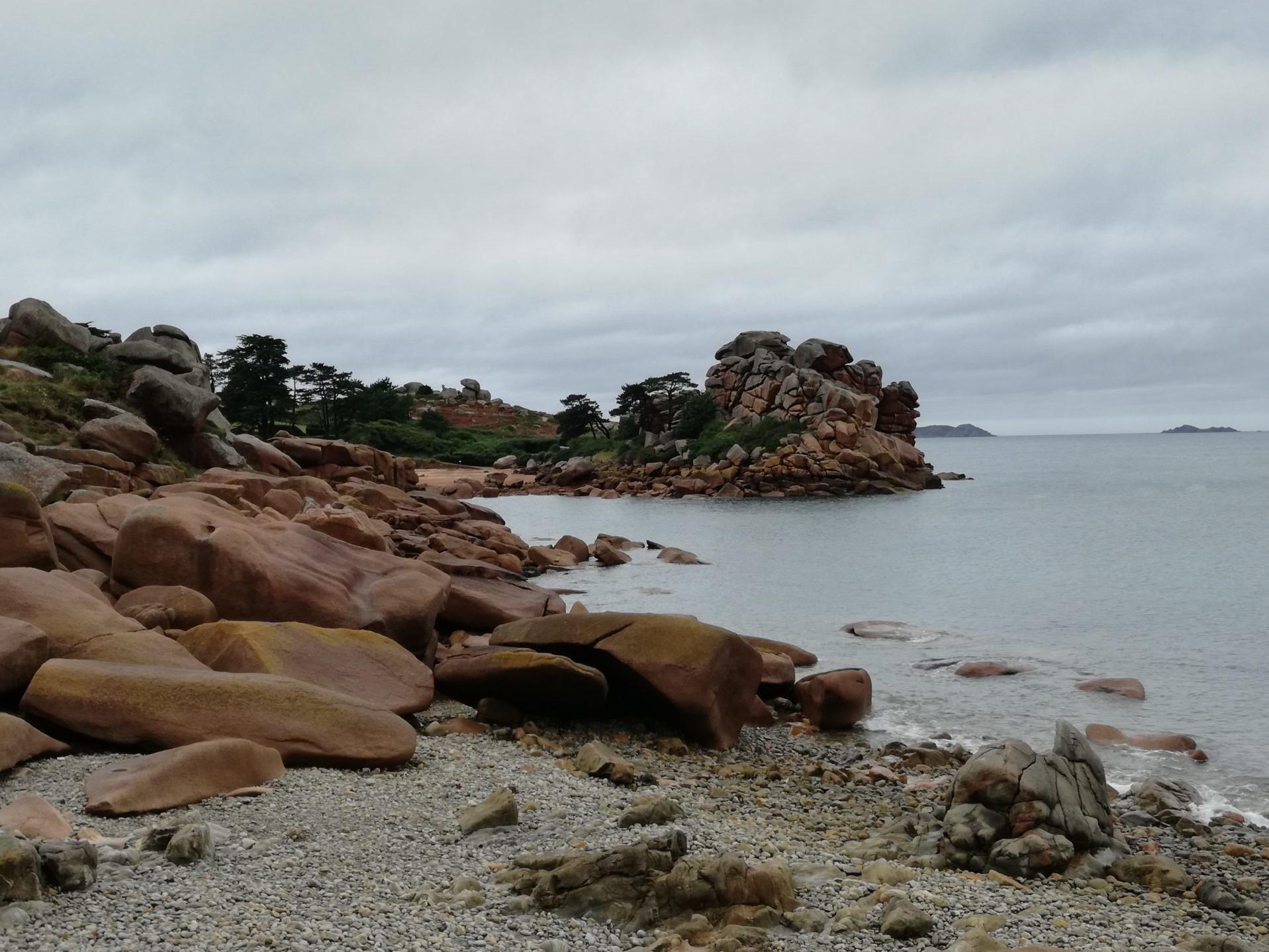 Un grand classique, la côte de Granit Rose