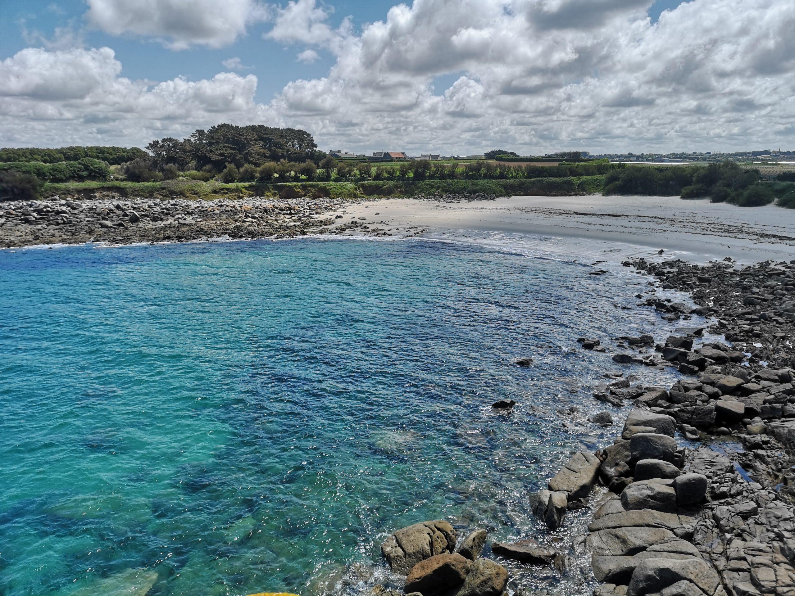 Balade sur les plages du Groac'h zu et de Kéradennec